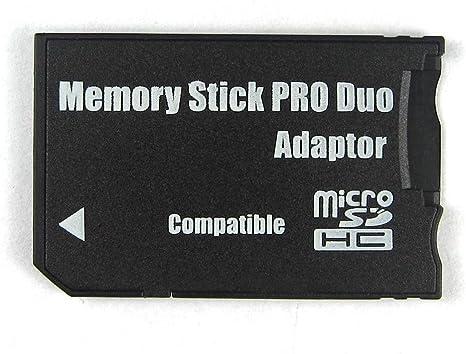 usado Sony Japón msac-m2 Memory Stick Duo tarjetas de memoria adaptador