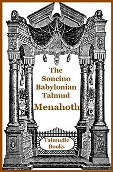 Talmud Menahoth (Soncino Babylonian Talmud Book 42) by [Cashdan, Eli]