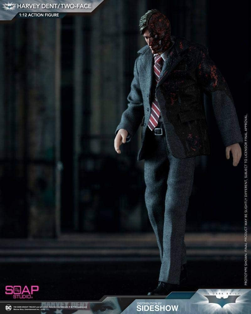 In-stock 1//12 Scale Soap Studio FG008 Joker Robber Version 6in Action Figure