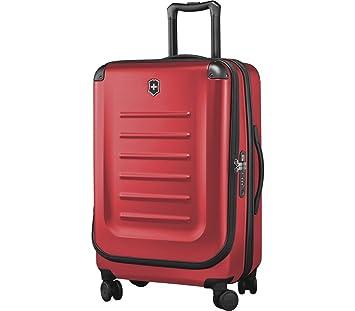 Victorinox Spectra 2.0, Moyen extensible, 4 à roues chariot cas, en rouge {62-91 litres}
