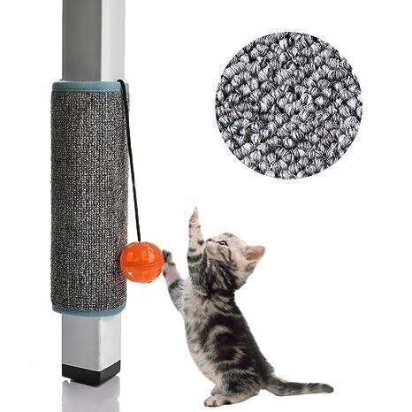 WXPC Sisal Cat Tablero del rasguño Gato Scratcher Gatito Estera ...