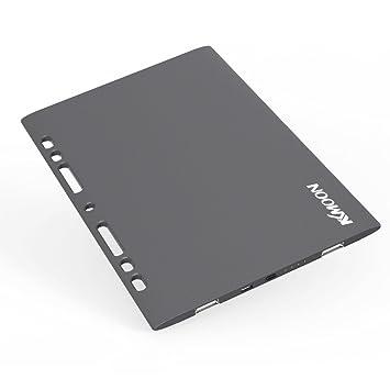 KKmoon Hoja ultra delgado 8000mAh doble USB 5V / 2.4A portátil batería de reserva externa