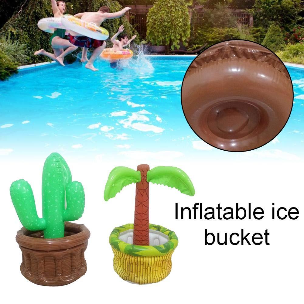Amazon.com: Cheng-store Cubo de hielo inflable refrigerador ...