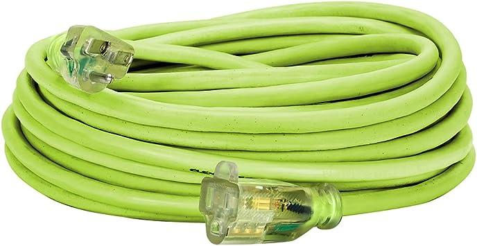 Flexzilla Pro 14 gauge 100/' Indoor Outdoor Premium Extension Cord