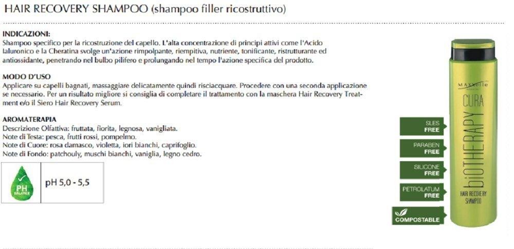 maxxelle Cuidado - Shampoo Filler ricostruttivo con ácido ...