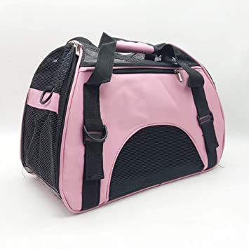 Pet backpack Mochila para Gatos Y Perros, Bandolera Transpirable MultifacéTica PortáTil, Mochila para Mascotas Adecuada para Actividades Al Aire Libre/Viaje ...