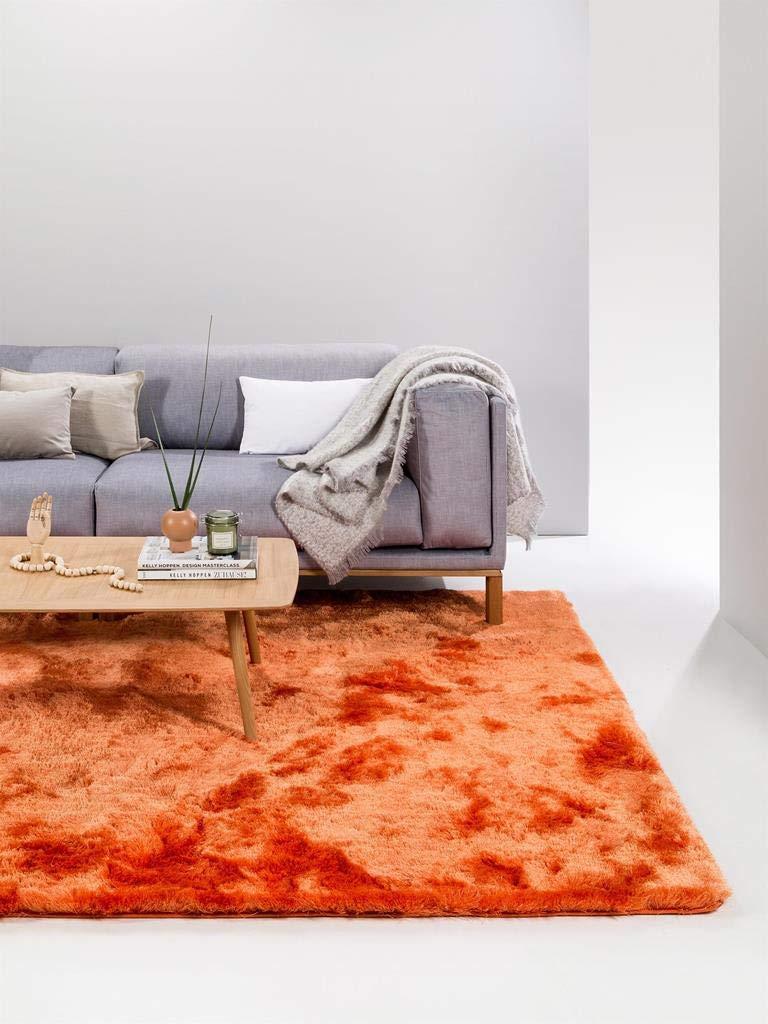 Benuta Shaggy Hochflor Teppich Whisper Quadratisch Beige 150x150 cm     Langflor Teppich für Schlafzimmer und Wohnzimmer B00KRH0A1U Teppiche ec4463