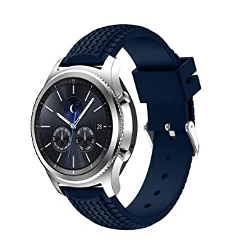 For Samsung Gear S3 Classic/Frontier Bands,Gotd Replacment Bands  Accessories Sports Silicone Bracelet