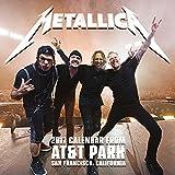 Metallica Calendar 2017 Square