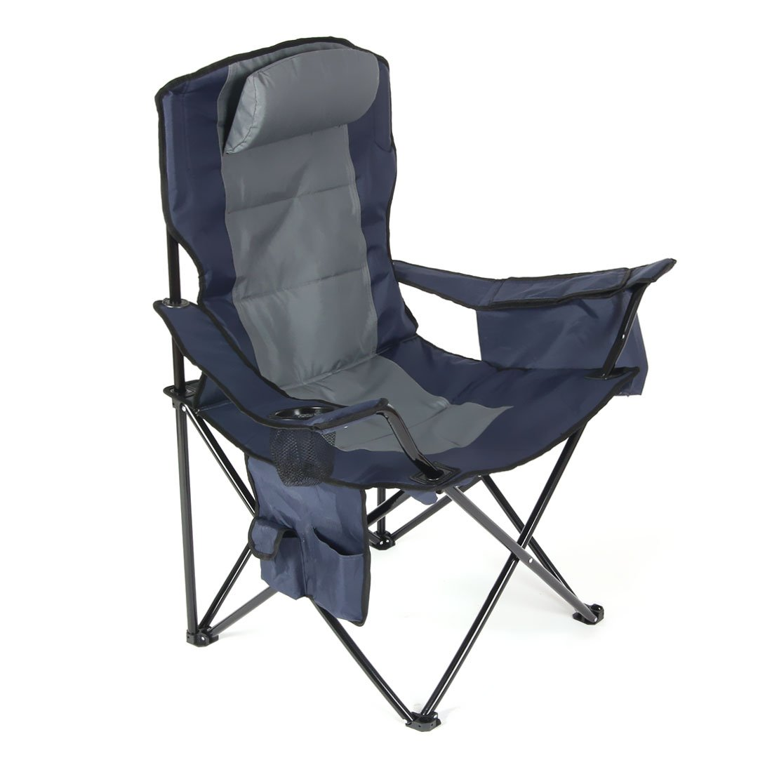 Ultimate Fishing Chair Camping Folding Chair With Big Ice Bag And Single Cup Side