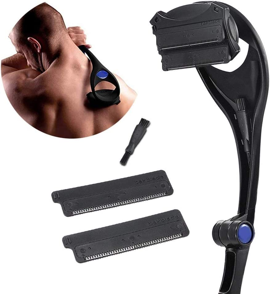 FWKTG Afeitadora Espalda Depilación for Hombres Y Afeitadora ...