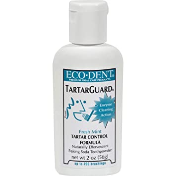 Amazon.com: eco-dent toothpowder Tartar Guardia – Menta ...