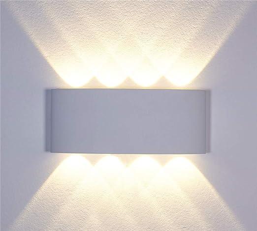 Kaday 8w Led Lampe Murale Interieur Décoratif Lèche Murs