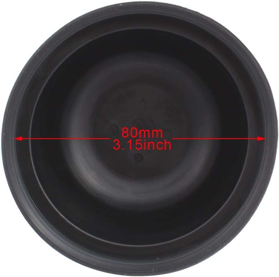 TOMALL 110mm 4.33inch Rubber Seal Dustproof Covers for Car HID LED Headlight Conversion Kit