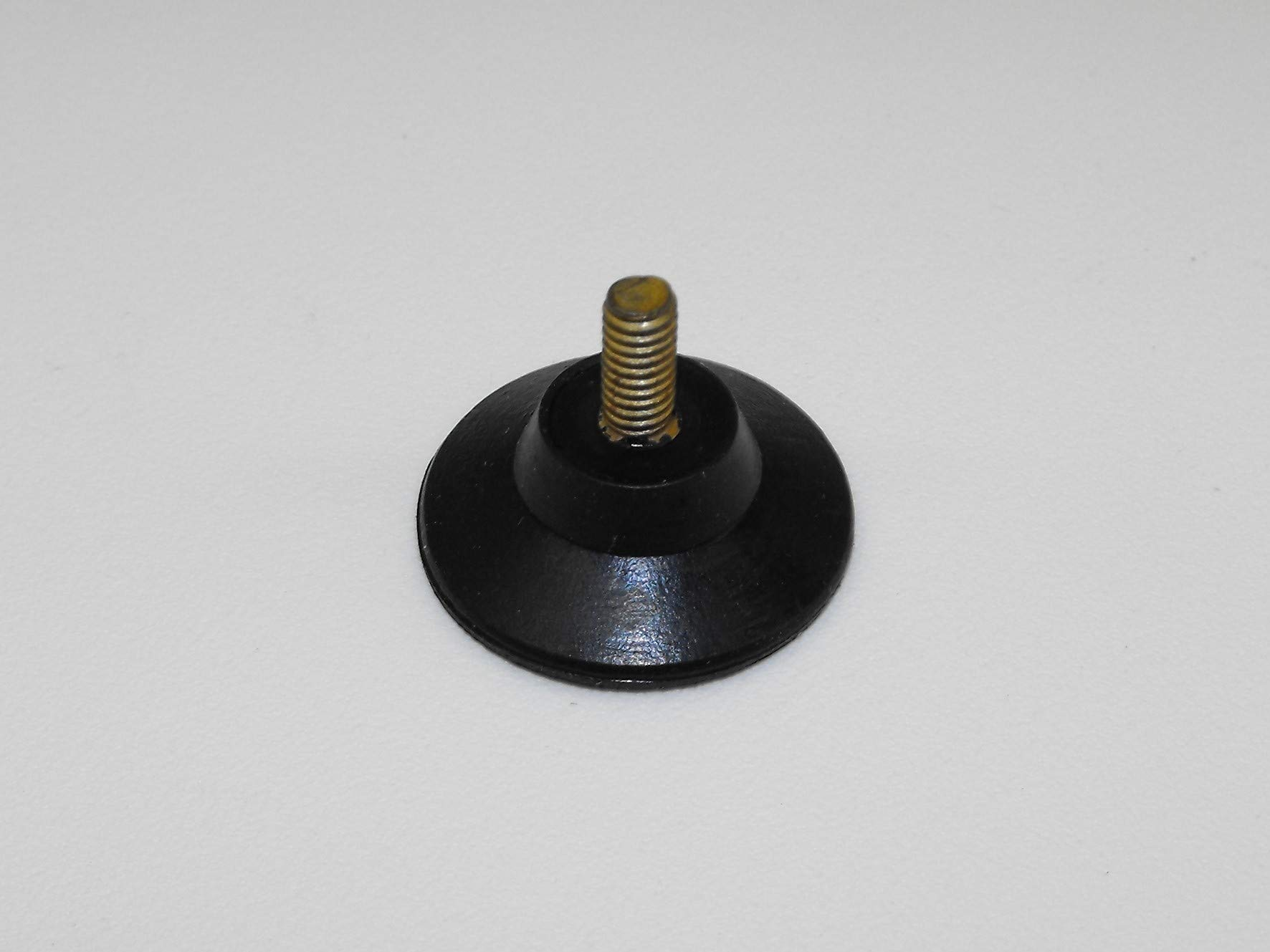 JL Missouri Parts 3/8'' #8-32 Screw in 1'' Rubber Suction Cup, 5/16'' Tall, Made in USA High Foot by JL Missouri Parts (Image #2)