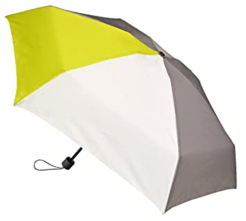 Rainbrella Sports Collection Paraguas, Color Gris/Blanco/Verde, XS
