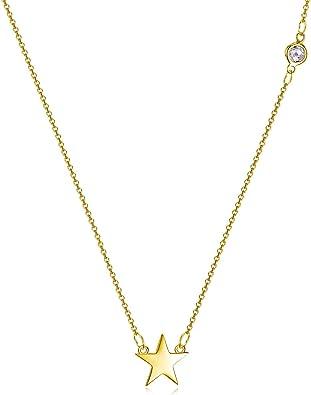 Smoky Quartz Star Necklace Rose Gold Filled Star Necklace Star Necklace Sterling Silver Star Necklace Oxidized Silver Star Necklace