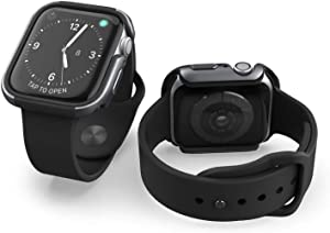 X-Doria Defense Edge Aluminum Apple Watch Protective Frame - Compatible with 42mm Apple Watch, Watch Sport and Watch Edition (Charcoal)