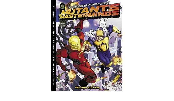 Mutants & Masterminds: RPG - 2nd Edition: Amazon.es: Steve ...