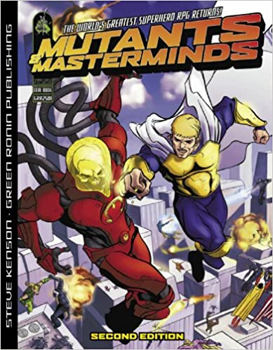Mutants And Masterminds Character Sheet Ebook