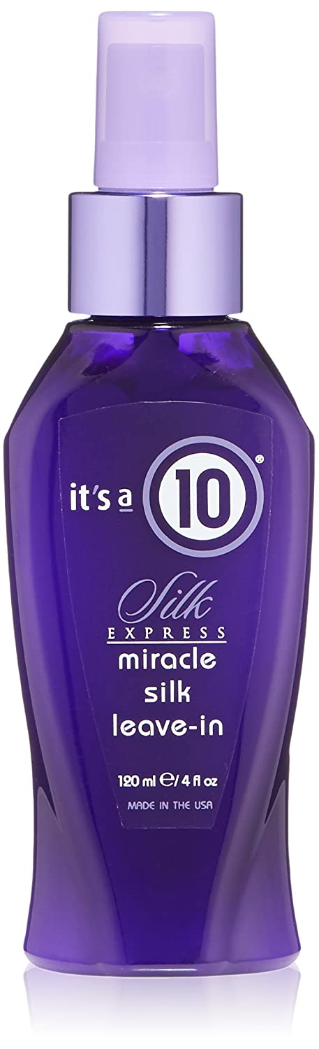 It's a 10 Haircare Silk Express Miracle Silk Leave-In Product, 4 fl. oz.
