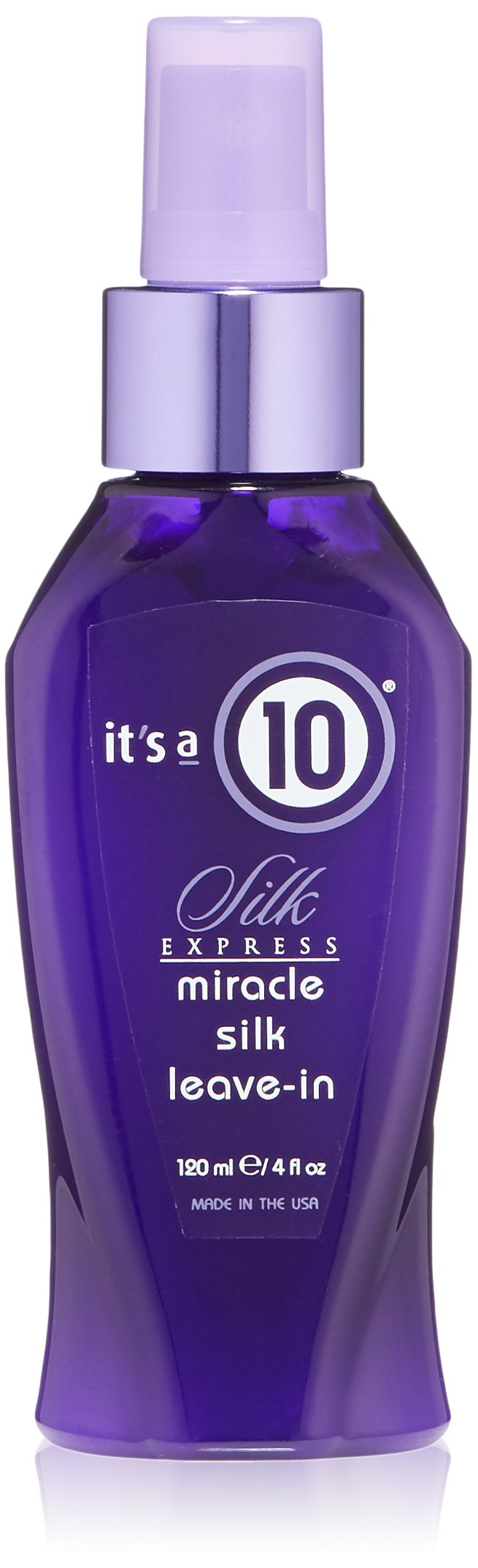 it 39 s a 10 silk express miracle leave in conditioner spray dry damaged hair 4 oz ebay. Black Bedroom Furniture Sets. Home Design Ideas