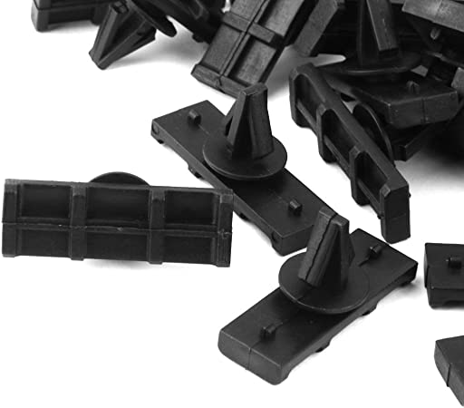 Sharplace 30pcs Ailes Clips De Moulage De Panneau Flare Rocker Panel Moulding Clips Retainer Fit JK Unlimited pour Jeep Wrangler