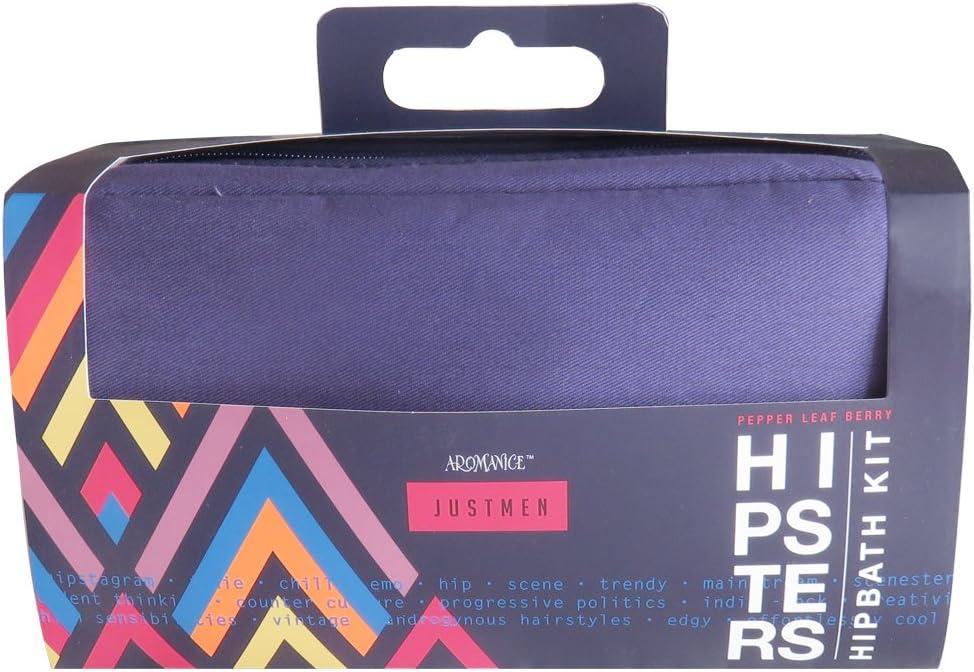Gloss - caja de baño, caja de regalo para hombres - Kit de GM Bain Hipsters: Amazon.es: Belleza