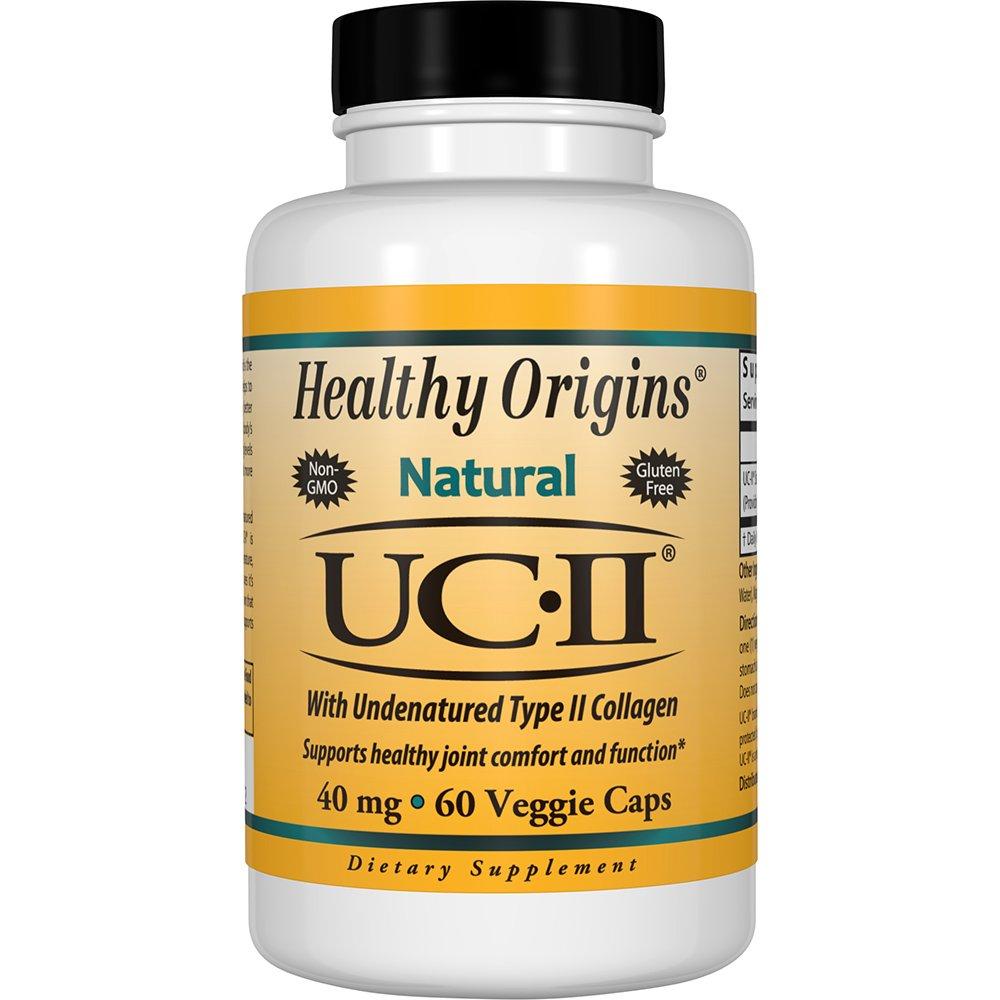 HEALTHY ORIGINS - UC-II with Undenatured Type II Collagen 40 ...