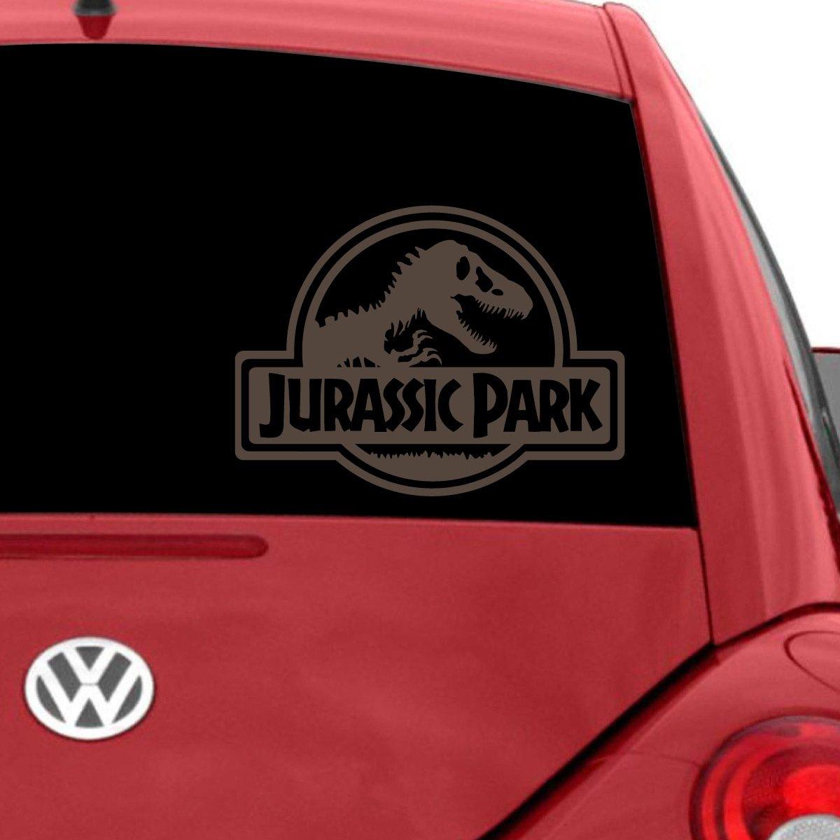a66ee90b0a Amazon.com  Jurassic Park Car Decal