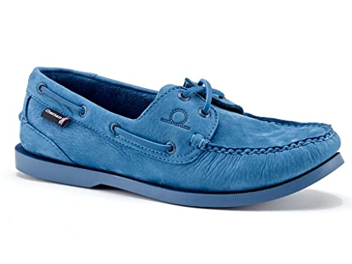 Chatham Leather Boat Shoes Men's Compass II G2 Royal