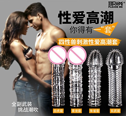 High Quality 4pcs/ lot Crystal Cock Rings Adult Sex Products Reusable Condom Sexy Toys Penis Sleeves Penis Extension Cock Rings