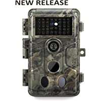GardePro A3 Wildlife Trail Kamera mit Starlight Sensor, Super Low Light Sensitivität, 20 MP, H.264 1080P 30fps, No Glow Night Vision, Motion Activated, Waterproof