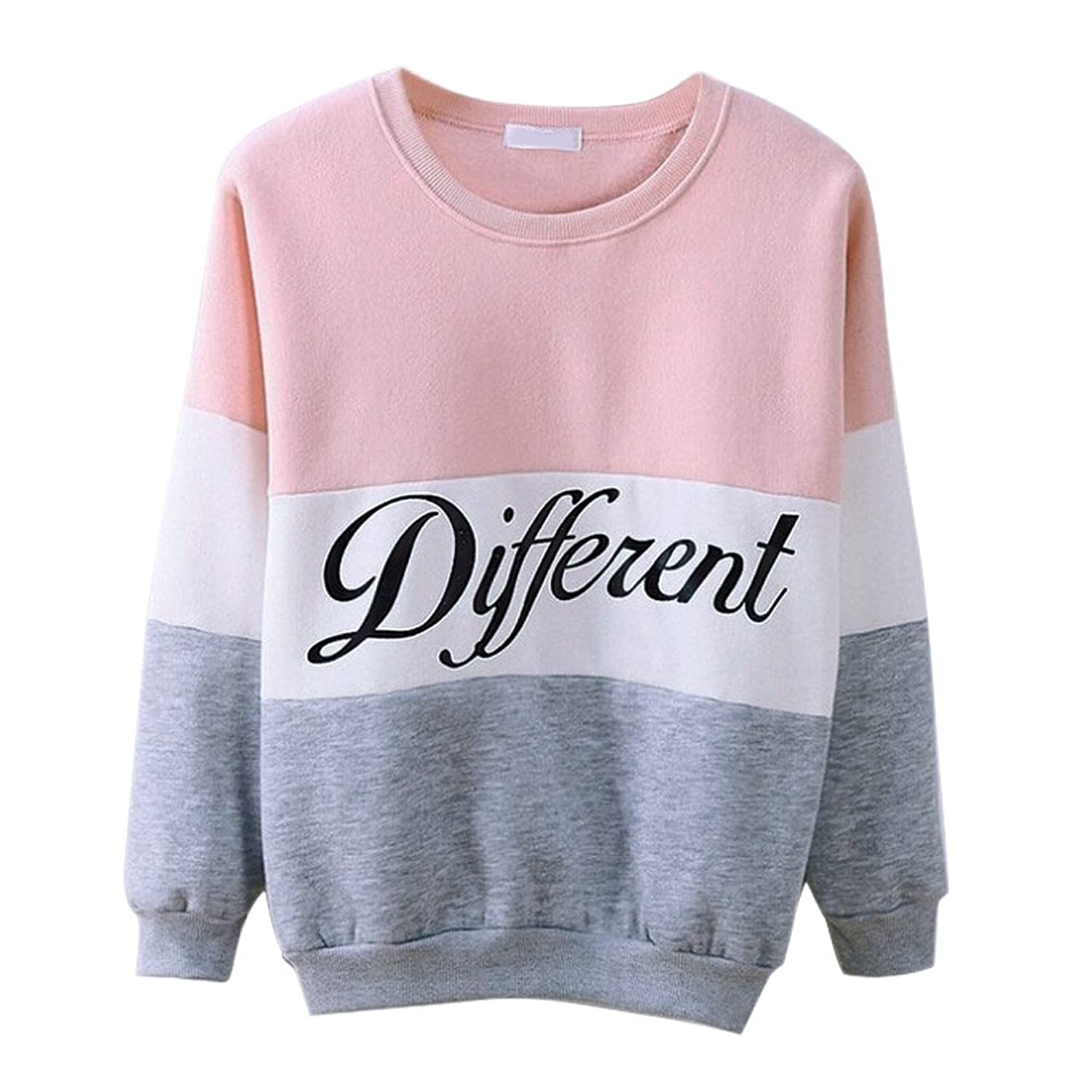 Misscat Girls Teens Cute Hoodies Sweater Pullover Letters Diffferent Printed Mix Color