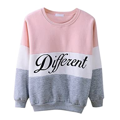 Misscat Girls Teens Cute Hoodies Sweater Pullover Letters Diffferent  Printed Mix Color (US S/
