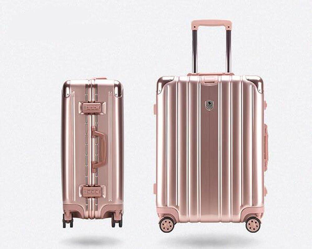 24インチ スーツケース キャリーケース 旅行ケース TSAロック搭載 トランクcas-001  ローズゴールド B073TTFVRV