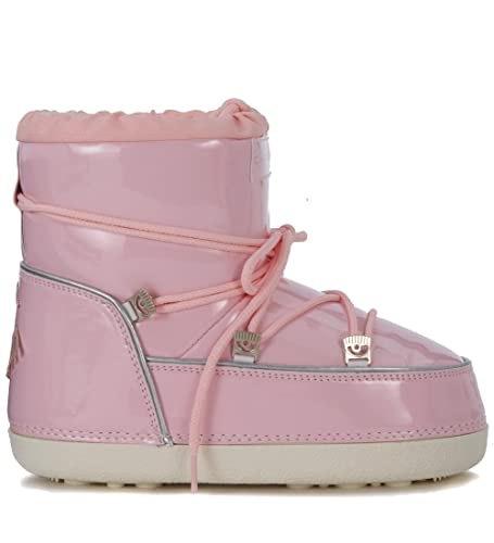 80fe1276110e Chiara Ferragni Collection Moon Boot Glitter Rosa - SM: Amazon.co.uk ...