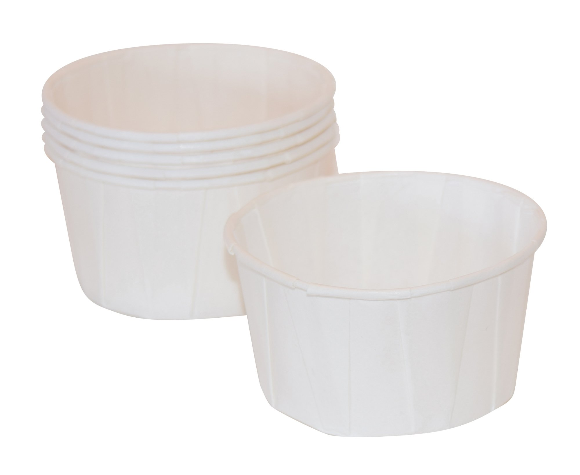 4 oz, Paper Souffle Portion Cups, Value set of 500 by JA Kitchens