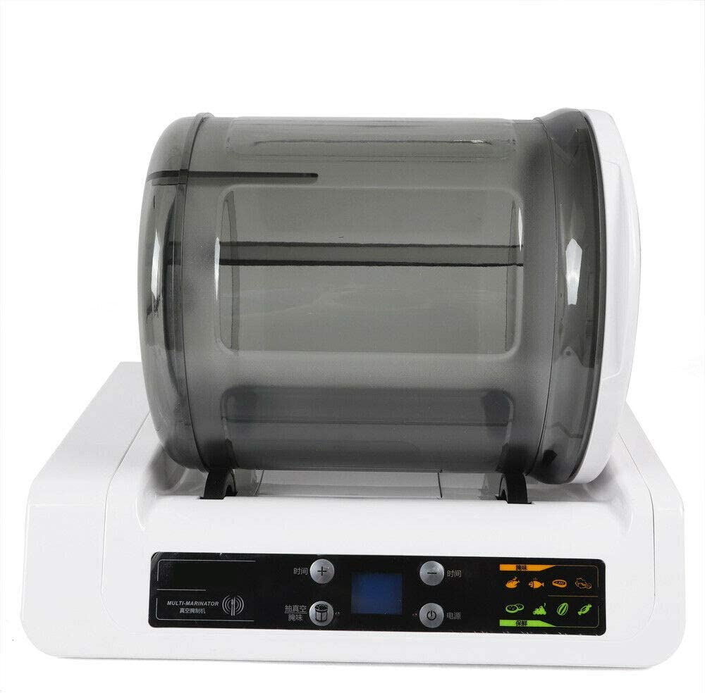 Mini Tumbler Pickling Machine 110v, US, Mini Tumbling Maker Pickled Machine Tumbler Electric Vacuum Food Marinator 20W Usa Safty Pickling Processor