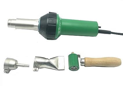 cgoldenwall Handheld Aire Caliente Plástico Soldador Pistola calor de soldadura de vinilo plástico Rod Gas Soldadura