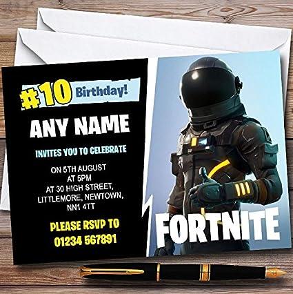 Paquete de 10 invitaciones de fiesta para niños - 10 ...