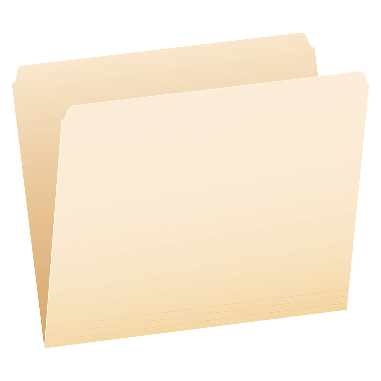 Pendaflex File Folders, Letter Size, Manila, Straight Cut, 100/BX (752) 3-Pack