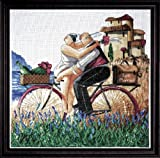 Design Works Crafts Counted Cross Stitch, Just Married, 14 by 14 inches