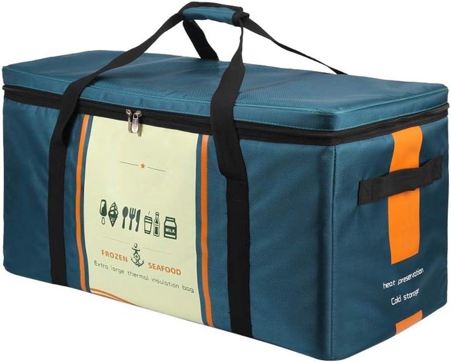 Bolsa De Almuerzo Con Aislamiento Y Fr/ía Para Hombres Y Mujeres Lunch Bag Port/átil Camping Capacidad : 50L 94L Bolsa Termicas Para Picnic 50L Verde Oscuro Coche Bolsa Nevera Grande 70L