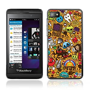 YOYOSHOP [420 Graffiti] Blackberry Z10 Case