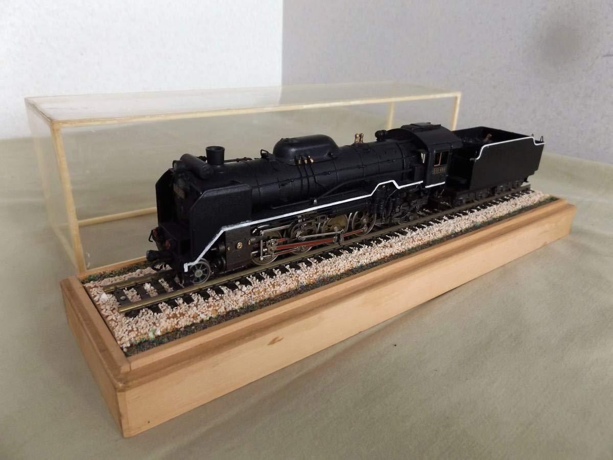 D51 950蒸気機関車/線路ジオラマセット HOゲージ 国鉄 機関車 鉄道 模型 線路 ジオラマ B07L7SYL1J