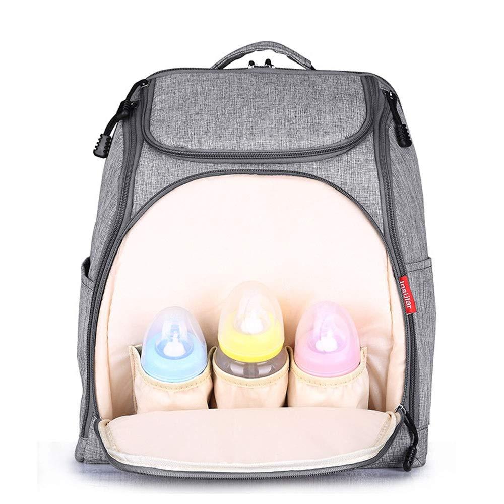 Stroller Organizer Stroller Organizer Bag Diaper Bag Waterproof Travel Backpack for Carrying Bottles, Diapers,Clothing, Toys & Snacks Etc 3 Colors Parents Stroller Organizer Bag by DHUYUN (Image #2)