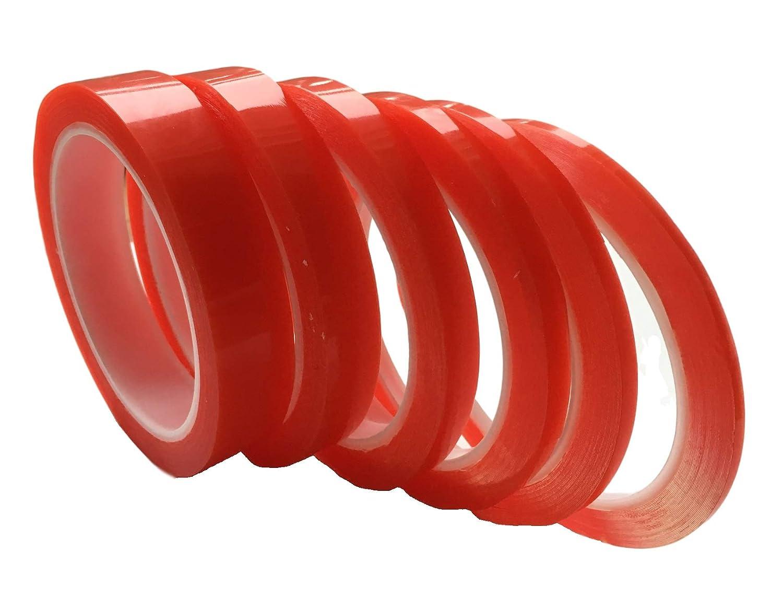 extra forte adesivo//adesivo Nastro biadesivo 0,2 mm acrilico adesivo sottile 10 metri o 20 metri. Nastro biadesivo trasparente 3 mm 5 mm 7 mm 10 mm 15 mm 20 mm