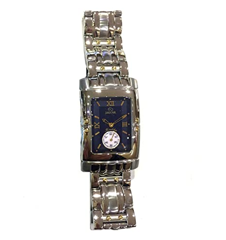 Reloj Jaguar Referencia J282/5 Friendship Rectangular con Esfera Azul: Amazon.es: Relojes