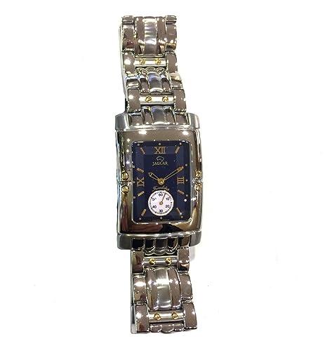 Reloj Jaguar Referencia J282/5 Friendship Rectangular con Esfera Azul: Amazon.es: Relojes